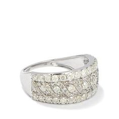 <strong>15</strong> - 1.50ct Certified Diamond 9K White Gold Tomas Rae Ring
