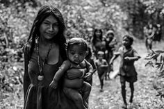"""""""Na década de 70, ao chegar a essa tribo bastante isolada, John Everett, missionário na época, aprendeu a falar a diferente língua desse povo e notou que lhes faltavam alguns elementos linguísticos. Eles não tinham nomes para cores e não tinham ideia sobre números. Quando perguntada a quantidade de algo que lhe era posto na frente eles diziam pouco, muito ou suficiente. Eles não tinham mitos ou lendas e não conjugavam o passado nem o futuro."""""""