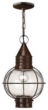 porch pendant  CapeCod Hanger Outdoor - traditional - outdoor lighting - Carolina Rustica
