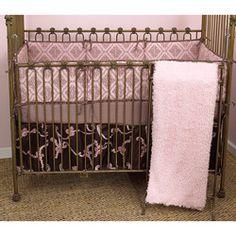 Cotton Tale Cupcake 4-piece Crib Bedding Set...want it