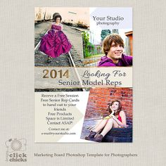 Senior Model Rep Marketing Board for by ClickChicksDesigns on Etsy, $8.00