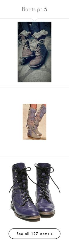 """Boots pt 5"" by thwgi ❤ liked on Polyvore featuring shoes, boots, ankle booties, footwear, high heel bootie, short boots, purple booties, purple boots, wide width ankle boots and stacked heel boots"