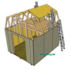 Truss Plates Versus Wood Gussets Shed Roof Gambrel How