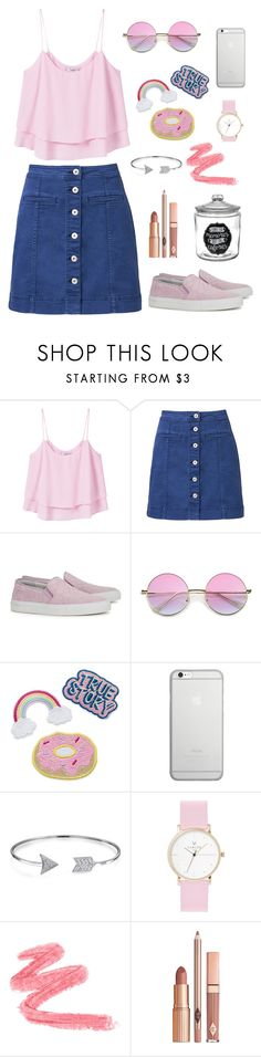 """Big pink love"" by krolokoshka on Polyvore featuring мода, MANGO, Witchery, Axel Arigato, Native Union, Bling Jewelry и Dolce Vita"