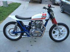 Yamaha Yamaha 650, Yamaha Motorcycles, Bike Builder, Flat Tracker, Dirt Track Racing, Street Tracker, Bike Stuff, Cafe Racers, Scrambler