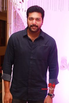 Jayam Ravi at Actor Sethu Wedding Reception