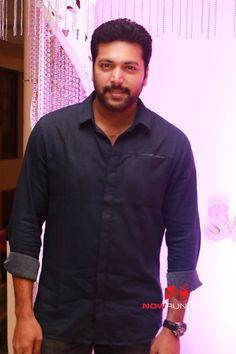 Jayam Ravi at Actor Sethu Wedding Reception