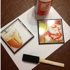 Instagram Coasters | If you haven't heard of Mod Podge...it's about to become your best friend. (Sold at Wal-Mart)