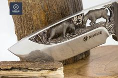 """Knife composition """"Rivalry. The moose"""" – Noblie"""