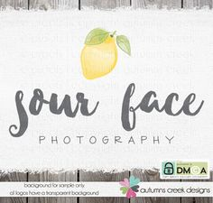 Premade Logo  photography logo design for by autumnscreek on Etsy