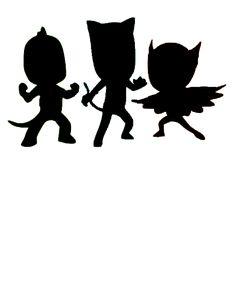 PJ Mask silhouette