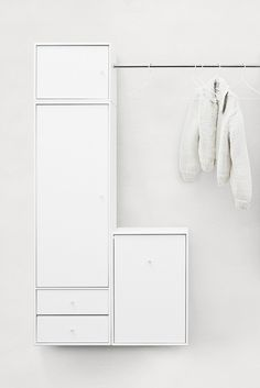 Montana Wardrobe in white. #montana #wardrobe #furniture #danish #design #nordic #style #clothes #storage #solution