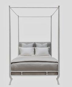 SUPPORTING CAST:  10 STARK WHITE PLASTER PIECES from @Oly Studio @Stylebeat Marisa Marcantonio #beds #plaster