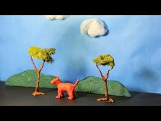 ▶ How to Create Clay Scenery | Stop Motion - YouTube