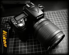 The Beast!  My very first professional camera - a Nikon D90.  Happy Birthday to me!