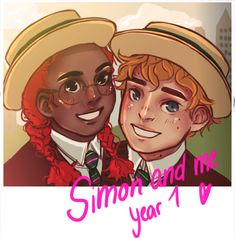 Simon and Penny in first year Good Books, My Books, Carry On Book, Gay Harry Potter, You Are The Sun, Rainbow Rowell, Watford, Book Fandoms, Book Characters