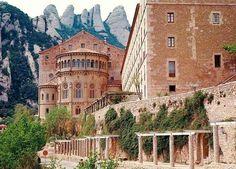 monasterio monserrat near barcelona