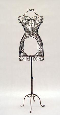 Female Wire Dress Form Mannequin #2 - Bronze – Mannequin Madness
