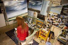 Beckie's studio