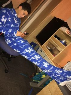 Devin Booker. I want his pajamas!!!