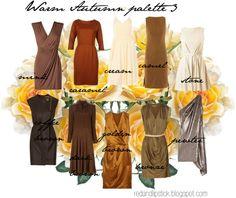 Warm Autumn palette 3