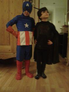 Louise Lundsgaard Schierbeck: Mine drenge er i år Antboy og Captain America. Jeg har syet Antboy eget jeres mønster, og Captain America er lavet udfra fantasien!