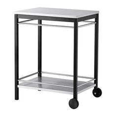 KLASEN Utility cart IKEA KLASEN utility cart gives you an extra storage area outdoors that you can easily move where you need it.