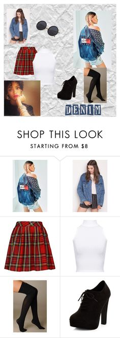 """""""Jeans"""" by jenny-on-fleek on Polyvore featuring mode, Tommy Hilfiger, WearAll, Hue et New Look"""