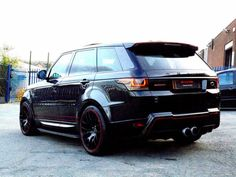 Land Rover Range Rover Sport 3.0 HSE TWIN TURBO DYN ASV RRS ADAIR WITH VERY HIGH SPEC PAN ROOF Estate Diesel Black