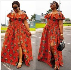 2019 Fashion And Styles: 60 Flawlessly Stylish Clothing For The Elegantly Stylish Ladies. latest ankara styles 2019 ankara styles pictures an. African Dresses For Kids, African Maxi Dresses, African Fashion Ankara, Latest African Fashion Dresses, African Print Fashion, African Attire, Ankara Gown Styles, Latest Ankara Styles, Ankara Gowns