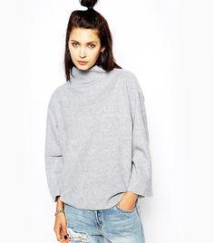 Cheap Monday Fleece High Neck Sweater