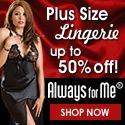 They have the prettiest Plus Size Lingerie !