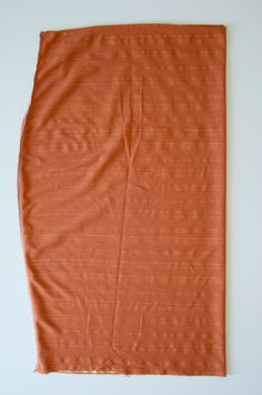 Fall Wardrobe Staple: 30-Minute DIY Pencil Skirt