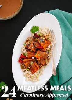 Find 24 vegetarian recipes, all carnivore approved! Meat lovers love these meatless options. cookieandkate.com