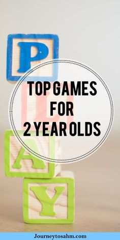 Most toddler games are geared for ages 3+. Don't wait a whole year to get your child playing games. Here is a collection of the best games for your 2 year old that will grow with them for years. #toddler #momlife #games