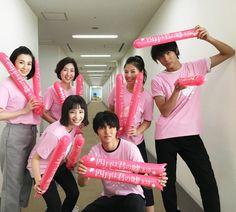 "Team ""Your lie in April"" appears on VS Arashi, Sep/15/2016 Kento Yamazaki x Taishi Nakagawa x Suzu Hirose x Anna Ishii Taishi Nakagawa, Kento Yamazaki, Your Lie In April, You Lied, S Stories, Live Action, Beautiful People, Tv Shows, Prince"