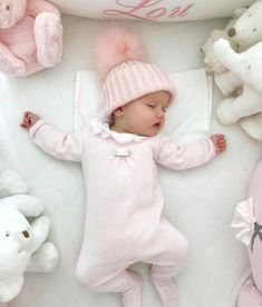 Baby cuteness overload! Snuggly darling brand new babies with their cute   bows and swaddles. Newborn ideas for those first few months when you   just stare at them for hours and hours in all their adorableness. #baby   #newborn