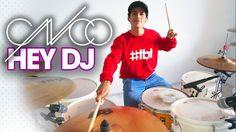 HEY DJ - CNCO    Bateria  *lo tienes que ver* Hey Dj Cnco, Celebrities, Celebs, Celebrity, Famous People