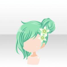 Wish my hair looked like this Pelo Anime, Manga Hair, Hair Sketch, Hair Reference, Fantasy Hair, Cute Chibi, How To Draw Hair, Anime Outfits, Hair Art