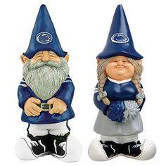 go PSU! love these little garden gnomes!