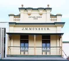 Photo from 4 January J M Monsour, Adelaide Street, Maryborough -established 1908 Adelaide Street, Old Houses, Perfect Place, New Zealand, January, Australia, Thoughts, History, Live