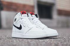 the best attitude b748c bf16c Air Jordan 1 Retro High OG Dropping in White   Black in Kids Sizes