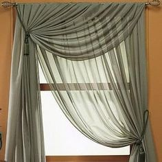 nice chiffon for windows