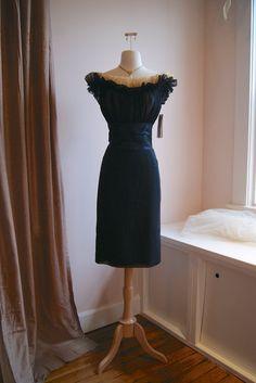 Vintage Peggy Hunt // 50s Dress // Vintage 1950s by xtabayvintage, $498.00