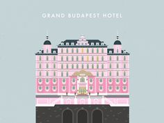 Grand Budapest hotel // desktop wallpaper