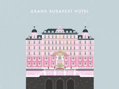 Grand Budapest hotel // desktop wallpaper