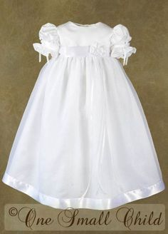 Beautiful, but would like with less puffy sleeves