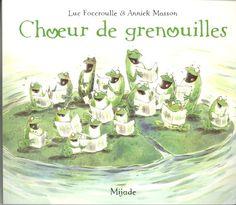 Choeur de grenouilles de Annick Masson…