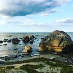 Roja: From the glacier to the sea. The earth is constantly changing #sea #stone #beach Earth, Sea, Stone, Water, Outdoor, Gripe Water, Outdoors, Rock, The Ocean