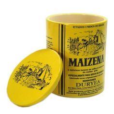 Para guardas biscoitos, bolachas, ou até a própria maizena: esse pote de cerâmica tem a estampa clássica da marca e parece ter vindo do passado. Por R$195, nas lojas Patt.